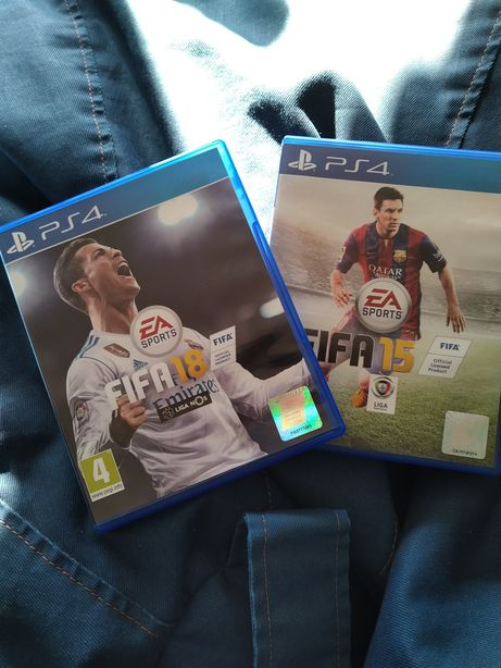 PS4 FIFA 18 e FIFA 15