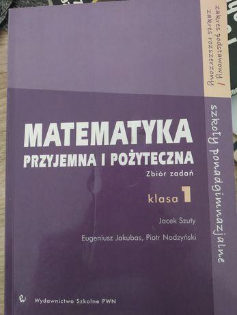 Matematyka przyjemna i pożyteczna 1, podstawa i rozszerzenie