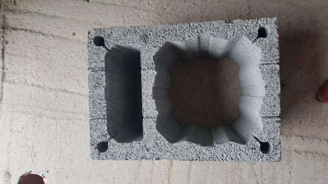 Pustak kominowy dla 1 i 2 wentylacji + ceramika