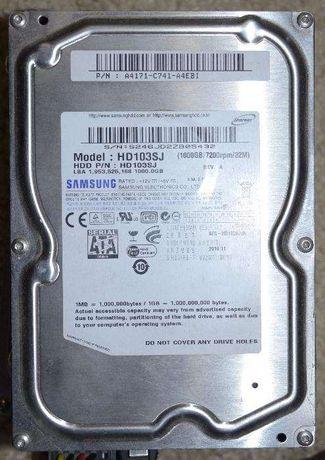 Жесткий диск Samsung 3.5 HD103SJ (1000GB/7200rpm/32M) Sata