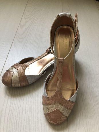 Нарядные новогодние праздничные туфли Monsoon для девочки