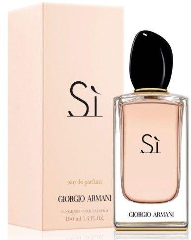 Giorgio Armani Si Perfumy Damskie. EDP100ml. Różówe. PREZENT Wocławy - image 1