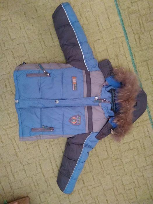 Зимняя куртка на мальчика 1-2.5 года Бочановка - изображение 1