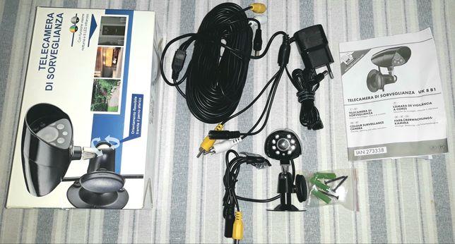 Câmara video vigilância segurança também dá para exterior
