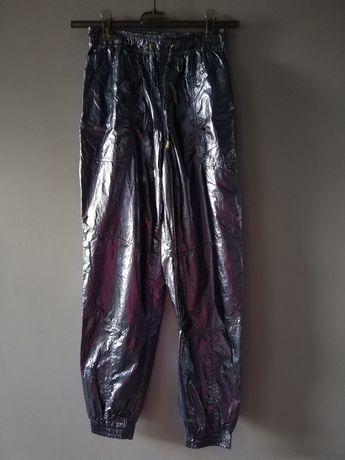 Livi spodnie metaliczne roz s