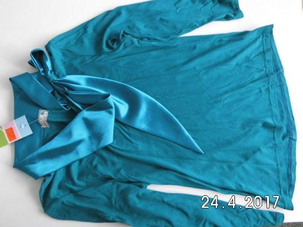 NOWA elegancka bluzka z kokardą r. 40