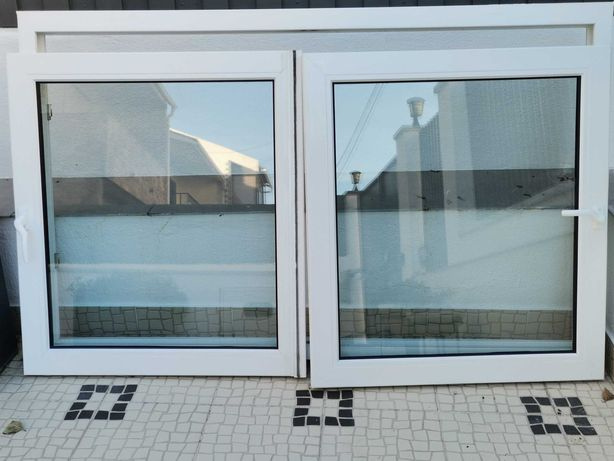 Janelas em PVC com vidro duplo