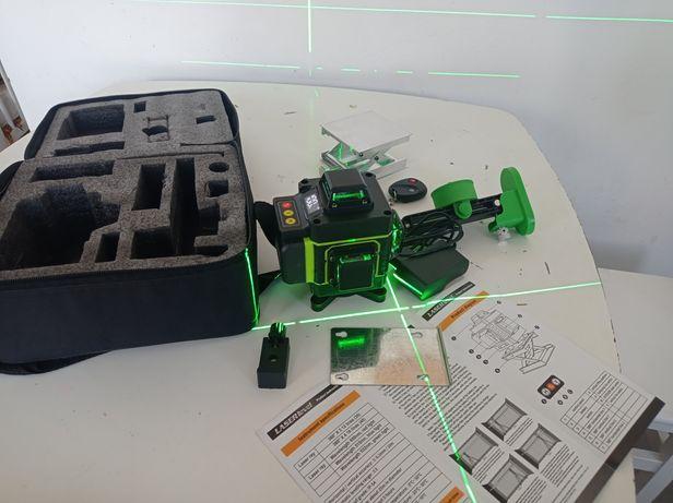 Laser nível 4d 16 linhas