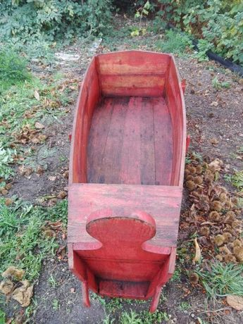 Vendo ou troco caixão de transporte de uvas, muito antigo