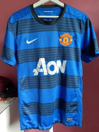 Koszulka piłkarska Manchester United wyjazdowa sezon 2011/12 rozm. M