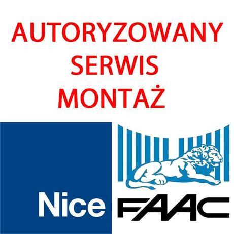 Autoryzowany serwis automatyki bram NICE FAAC CAME BENINCA i inne
