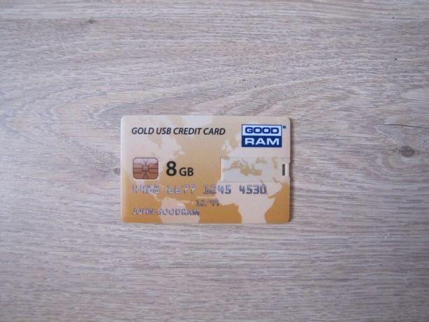 Флешка Good Ram кредитная карта рабочая на 8 GB как новая