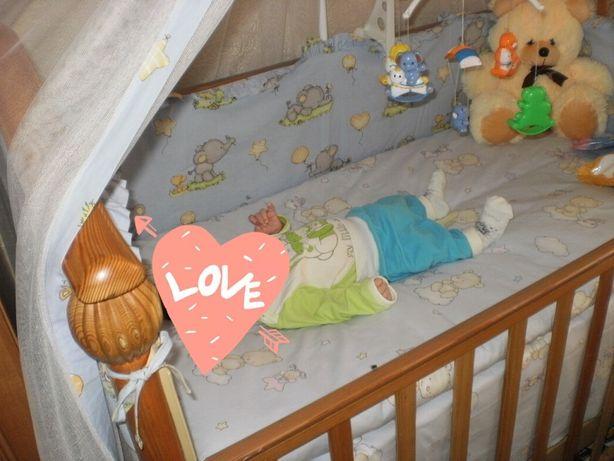 Кроватка.Ліжечко дитяче.
