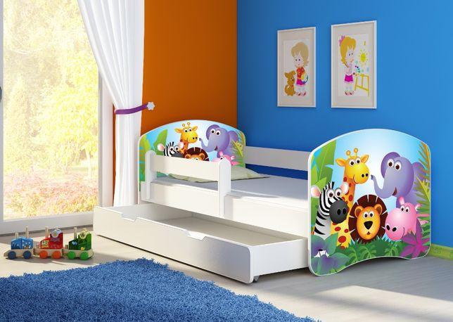 Łóżko, łóżeczko dziecięce Białe 180x80