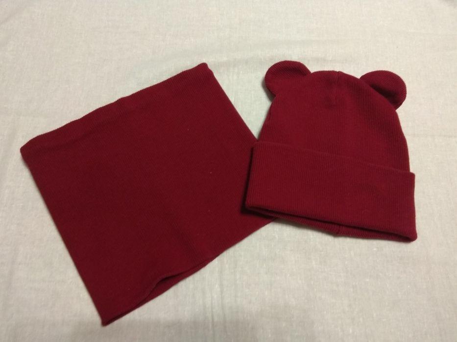 Дитяча шапка + шарф-хомут Нежин - изображение 1