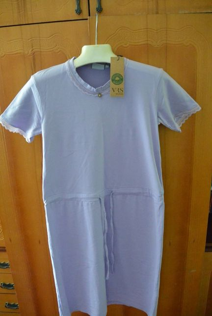 Нічна сорочка з екологічної бавовни