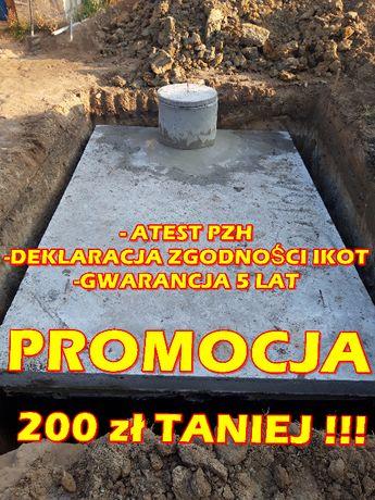Szambo 8m3 komora studzienka piwniczka DOSTAWA Nierada Łojki Szarlejka