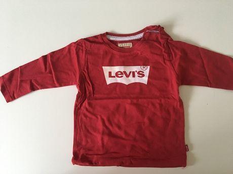 T-shirt z długim rękawem LEVI'S rozmiar 80