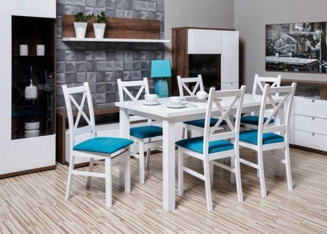 Zestaw Krzyżak stół rozkładany + 6 krzeseł PROMOCJA!