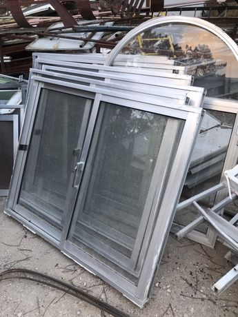 Janelas aluminio vidro simples