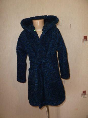 Синий халат Некст на 7-8 лет