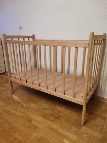 Кроватка детская, деревяная кроватка