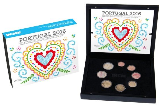 Serie PROOF Portugal 2016 RARA