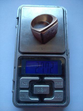 Кольцо перстень ссср 27.7 г. 585 14к