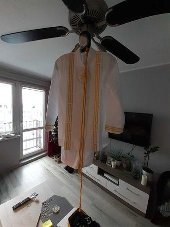 Alba+ żakiet+spodnie biale chłopięce