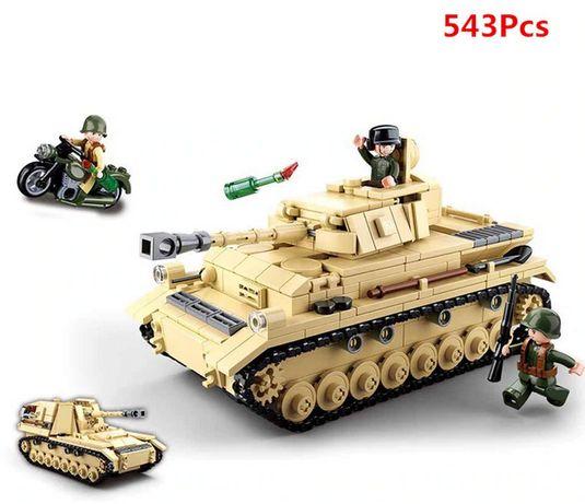 Zestaw Czołg PZIII - Łącz z Lego / NOWE