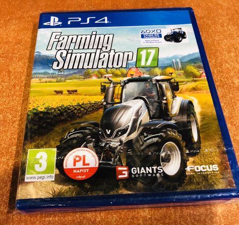 Farming Simulator 2017 PS4 (nowa)