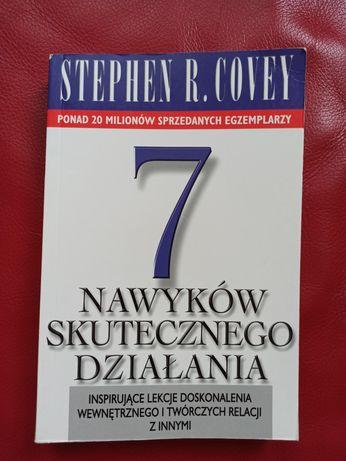 """Książka """"7 nawyków skutecznego działania"""". Stephen R. Covey"""