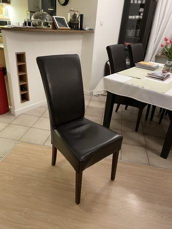 Krzesła skóra 6szt