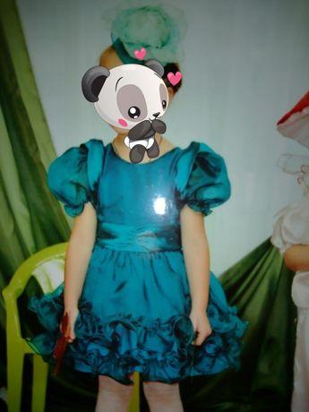 Нарядное платье ёлочка,капуста!!рост 104-116
