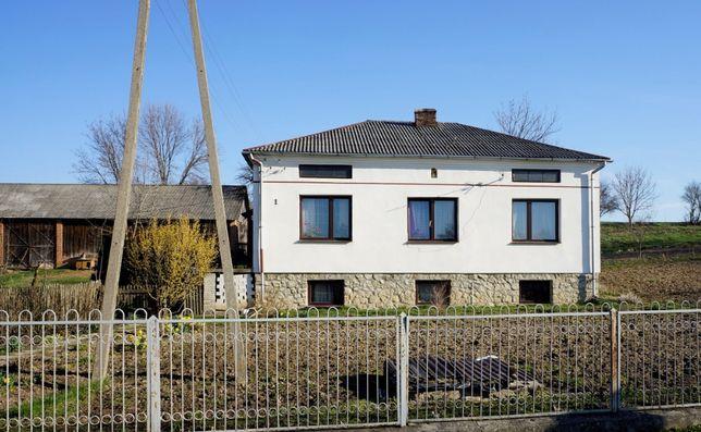 Gospodarstwo siedlisko dom mieszkalny z budynkami gospodarczymi
