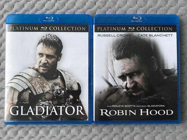 """Gladiator"" i ""Robin Hood"" - 2 Blu-ray (polski lektor)"