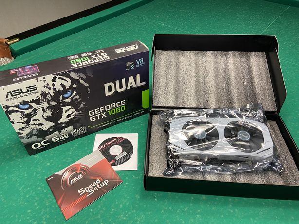 Видеокарта ASUS GTX 1060 Dual 6GB