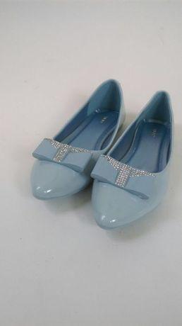 Balerinki baby blue