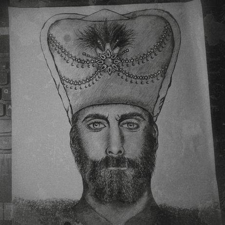 Портрет Султана Сулеймана Великолепного