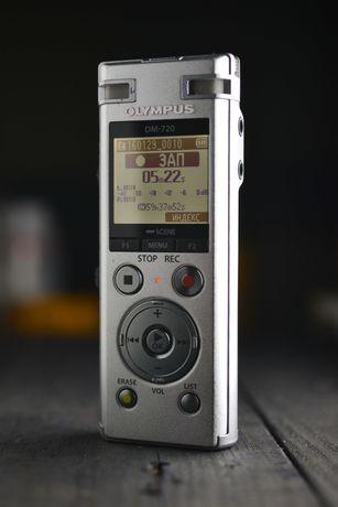 Диктофон рекордер Olympus DM 720 MP3 320 WAV 48/16bit (не Zoom Tascam)