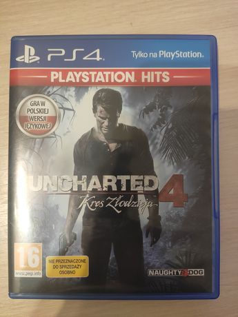 Uncharted 4 PS4 pl