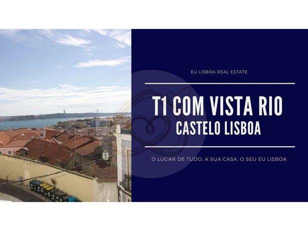 Castelo - Apartamento T1 com Vista Rio - 80 m2