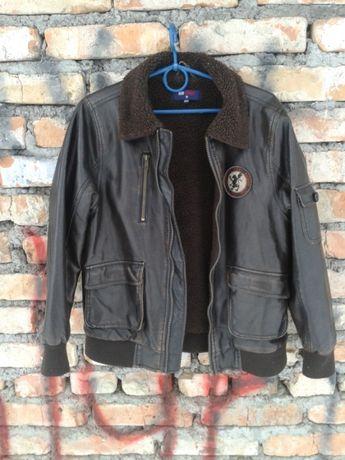 Куртка в стиле пилот подростковая