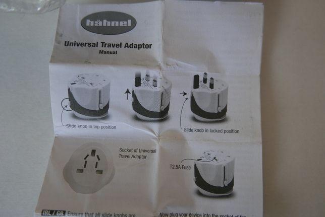 adaptador viagem universal de corrente - HAHNEL