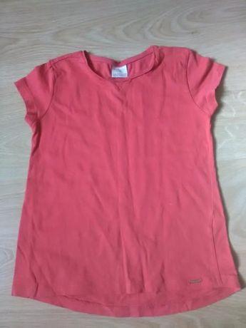 Bluzka dziewczęca krótki rękaw Zara rozm. 122 cm