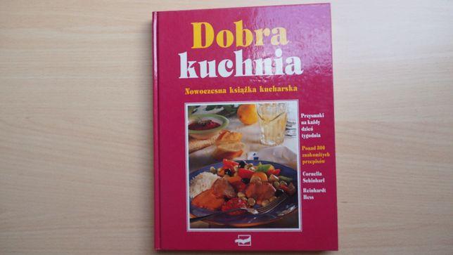 Książka kucharska Dobra Kuchnia twarda oprawa