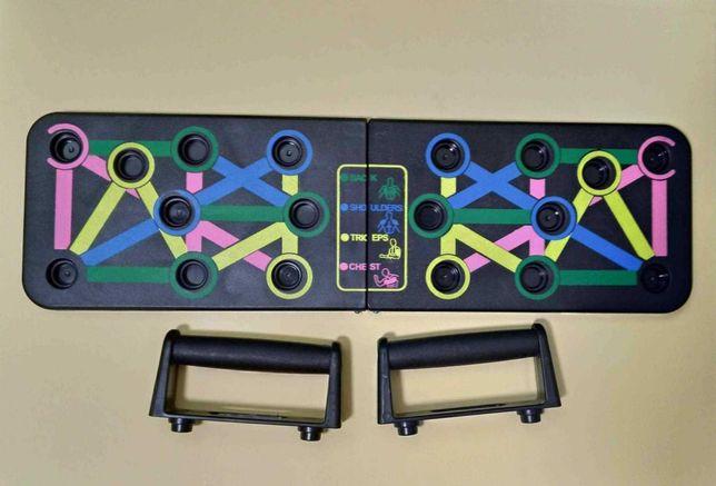 Push Up Rack Board Упоры доска для отжиманий опоры тренажер эспандер