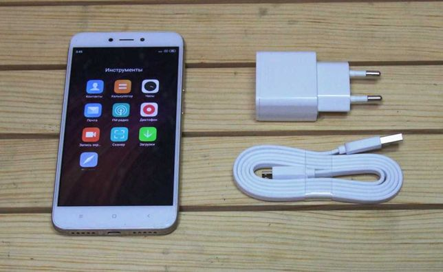 Xiaomi redmi 4x 2/16ГБ (8 ядер, 2 сим, 13+5Мп, 5 дюймов HD экран )