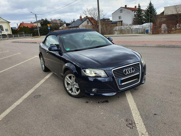 Audi a3 8p 1.9 tdi BLS kabriolet  BI XENON. Ks serwisowa