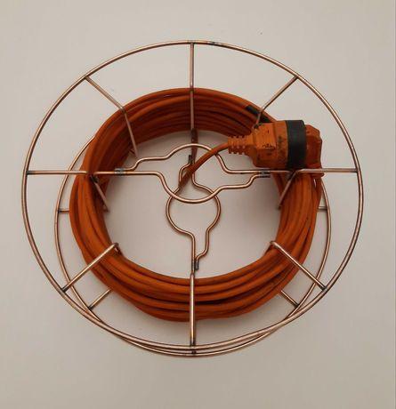 Szpula nawijak zwijak kabla przewodu przedłużacza